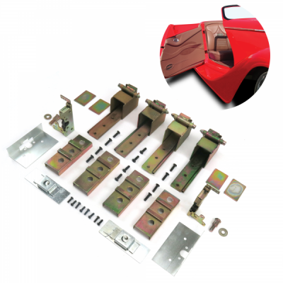 Exterior - Autoloc - 2 Door Individual Suicide Hidden Hinge System SuperKit