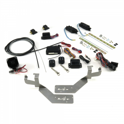 Bolt On Shave Door Kit for 1980 - 1999 GM Cars and Trucks (1 PAIR) with Alarm and Remotes
