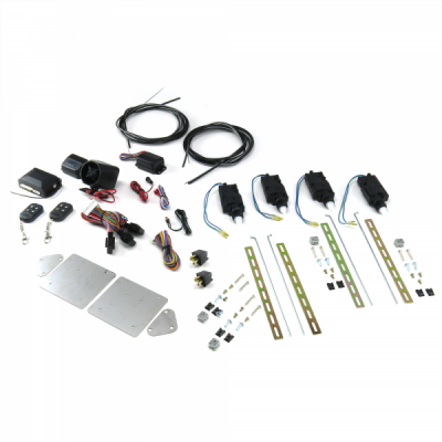 Door Kits - Shaved Door Kits - Universal Bolt On Shave Door Kit (1 PAIR) with Alarm and Remotes
