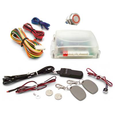 Autoloc - One Touch Engine Start Kit with RFID - Your Choice of Button Color