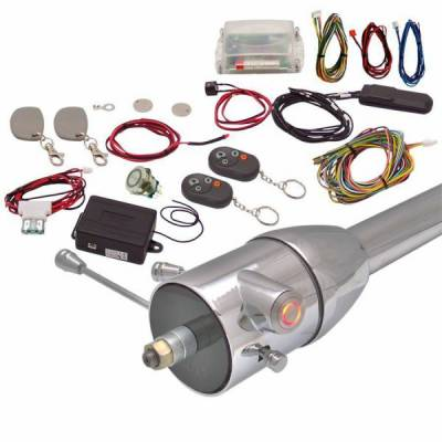 Interior Accessories - Push Button Engine Start Kits - Autoloc - One Touch Engine Start Kit with RFID and Remote - Your Choice of Button Color