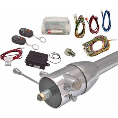 Interior Accessories - Push Button Engine Start Kits - Autoloc - Non-Illuminated One Touch Engine Start Kit and Remote