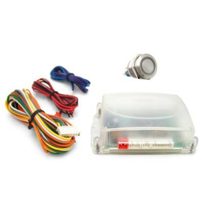 Interior Accessories - Push Button Engine Start Kits - Autoloc - Non-Illuminated One Touch Engine Start Kit
