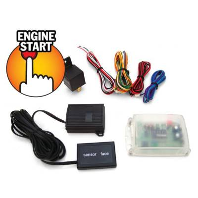 Interior Accessories - Push Button Engine Start Kits - Autoloc - UltraTouch EZ Start Push Button Engine Start System