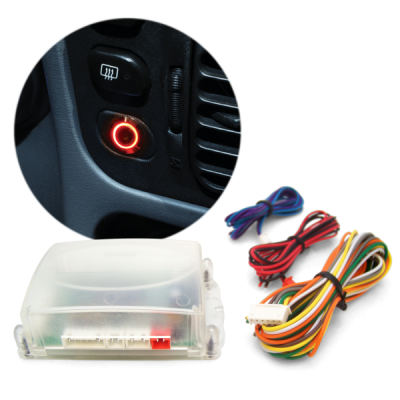 Interior Accessories - Push Button Engine Start Kits - Autoloc - Engine Start Activation Control Unit with TruTouch