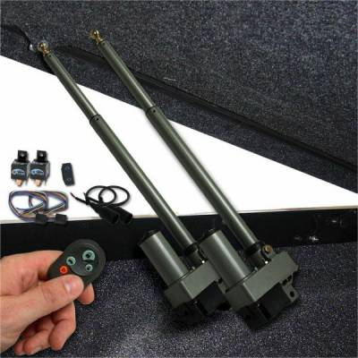 Exterior - Autoloc - Heavy Duty Dual Bolt In Power Tonneau Cover Opener with Remote and One Touch Operation