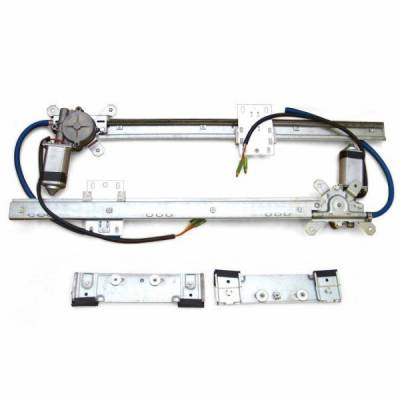 Interior Accessories - Power Window Kits - Autoloc - 2 Door Flat Power Window Kit U-Wire Driver/Passengers