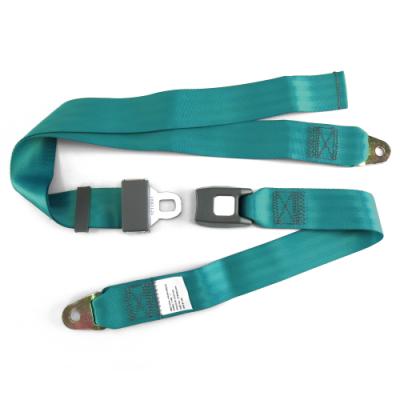 Interior Accessories - SafeTboy - 2 Point Aqua Lap Seat Belt, Standard Buckle, Pair