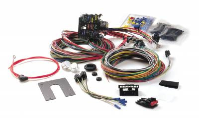 Electrical System - Painless Performance - Painless Performance Classic Customizable Chassis Harness - GM Keyed Column - 21 Circuits