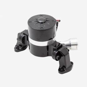Water Pumps - Electric - Top Street Performance - Small Block Chevy High Flow Electric Water Pump-Black