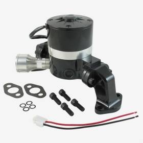 Water Pumps - Electric - Top Street Performance - Big Block Chevy High Flow Electric Water Pump - Black