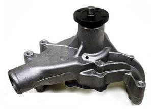 CFR - Chevy Small Block HIgh Volume Long Water Pump 1969 to 1984 Natural Finish - Image 1
