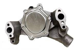 CFR - Chevy Small Block HIgh Volume Long Water Pump 1969 to 1984 Natural Finish - Image 2