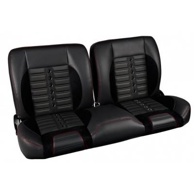 Ready To Install Seats - TMI Pro Series Seats - TMI Products - 1957 -79 Ford Truck Sport XR Pro-Classic - Complete Split Back Bench Seat - From TMI Made in the USA