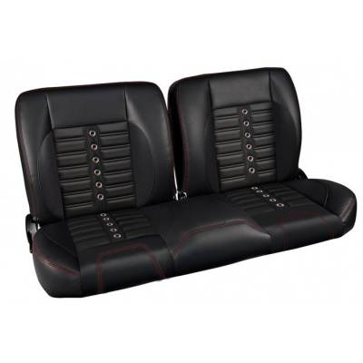 Ready To Install Seats - TMI Pro Series Seats - TMI Products - 1957 -79 Ford Truck Sport X Pro-Classic - Complete Split Back Bench Seat - From TMI Made in the USA