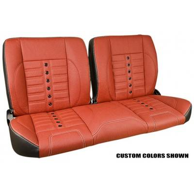 TMI Products - 1948-56 Ford Truck Sport X Pro-Classic - Complete Split Back Bench Seat - From TMI Made in the USA - Image 4