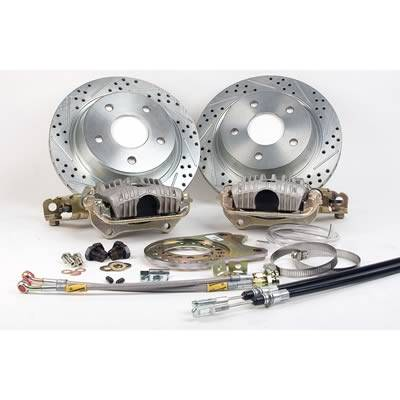 Brakes - Brake Systems - Baer Brakes - IRON SPORT REAR BRAKE SYSTEM GM 10/12 BOLT