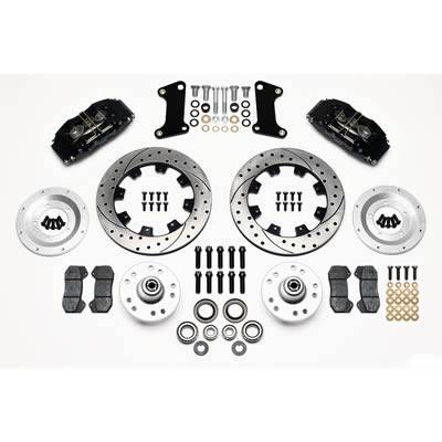 Wilwood Brakes - FRONT DISC BRAKE KIT 67-69 CAMARO 12.19 ROTOR