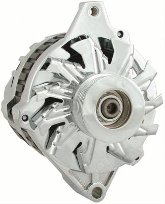Power Master Performance - GM TPI CHROME ALTERNATOR 100 AMP