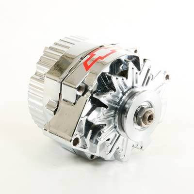 Electrical System - Proform - BOWTIE CHROME GM 120 AMP ALTERNATOR 1-WIRE