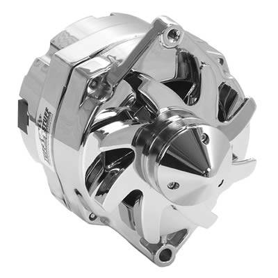 Electrical System - Tuff Stuff Performance Accessories  - Tuff Stuff Silver Bullet GM Alternator 140 AMP CHROME