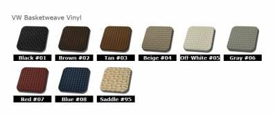 TMI Products - 1974-76 VW Volkswagen Bug Beetle Sedan Slip On Seat Upholstery, Front & Rear Seats - Image 2