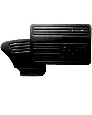 Door Panels - Bug, Beetle - TMI Products - 1967 - 1977 Volkswagen Bug Sedan Authentic Style Door Panels - Full Set w/Pocket