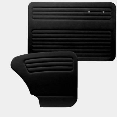 Door Panels - Bug, Beetle - TMI Products - 1967 - 1977 Volkswagen Bug Sedan Authentic Style Door Panels - Full Set