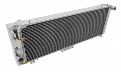 Champion Cooling Systems - Champion Two Row Aluminum Radiator for Jeep Cherokee 1991 - 2001 EC1193