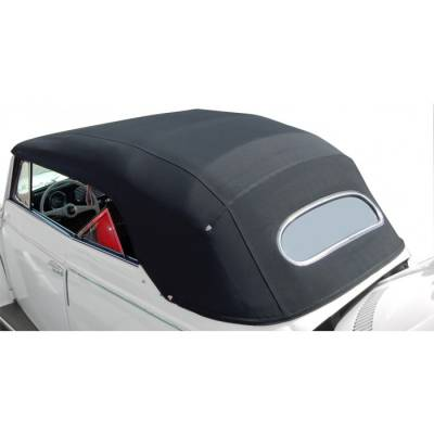 Volkswagen - Convertible Tops - 1950 - 57 Volkswagen Beetle Bug Convertible Top Cover - Haartz Supreme Pinpoint Vinyl