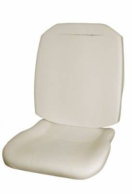 Seat Foam - Bug, Beetle - TMI Products - 1974 - 76 Volkswagen Beetle Bug Molded Foam Seat Padding Kit (Front Bottom & Backrest)