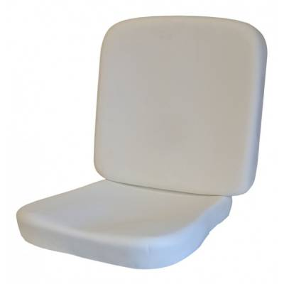 Seat Foam - Karmann Ghia - TMI Products - 1958 - 60 Volkswagen Karmann Ghia Molded Foam Seat Padding Kit (Front Bottom & Backrest)