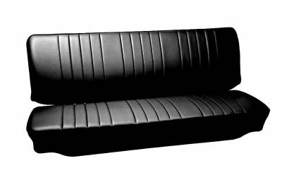 Seat Upholstery - VW Bus - TMI Products - 1950 - 62 VW Volkswagen Bus Full Front Bench Seat Upholstery
