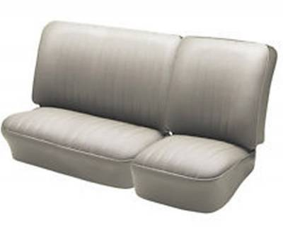 Seat Upholstery - VW Bus - TMI Products - 1974 - 76 VW Volkswagen Bus Split Front Bench Seat Upholstery