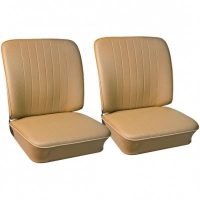 Seat Upholstery - VW Bus - TMI Products - 1974 - 76 VW Volkswagen Bus Front Bucket Seat Upholstery - Pair