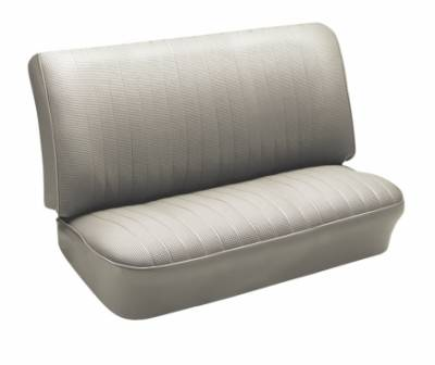 Seat Upholstery - VW Bus - TMI Products - 1950 - 73 VW Volkswagen Bus 3/4 Middle Bench Seat Upholstery