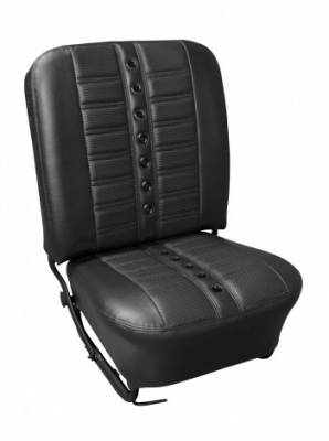 TMI Products - 1956-57 VW Volkswagen Bug Beetle Sedan Sport X Seat Upholstery, Front and Rear - Image 2