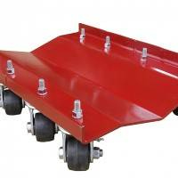 "Merrick Auto Dolly - Ribless Dually Dolly - 24"" x 16"" - 5200 lb. Capacity"