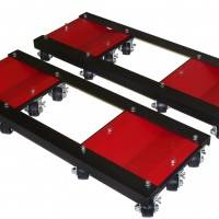 Tools & Equipment - Auto Dollies - Merrick Auto Dolly - Ginormous Tandem Dolly - 8000 lb. Capacity
