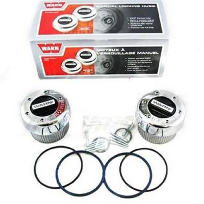 Drive Train - Big Dog Performance Parts - 1999 - 2004 Ford Super Duty Pick Up Truck Manual Locking Hub Set from WARN