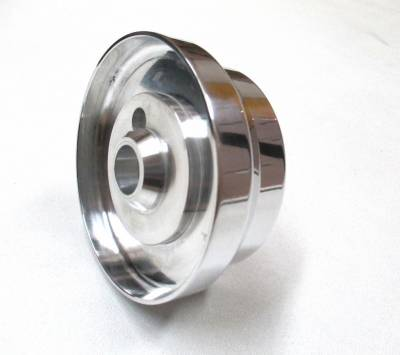 "Forever Sharp - Billet Five Hole ""Shorty"" Steering Wheel Adapter Fits Many Models"