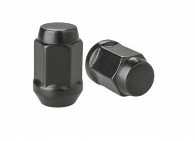 Rocket Racing Wheels - Black Standard Lug Nut Set