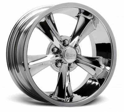 Rocket Racing Wheels - Rocket Racing Wheel Booster Chrome - Various Sizes