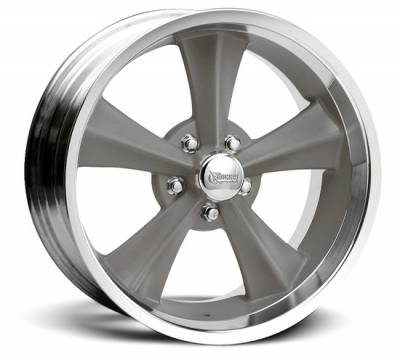 Rocket Racing Wheels - Rocket Racing Wheel Booster Gray - All Sizes
