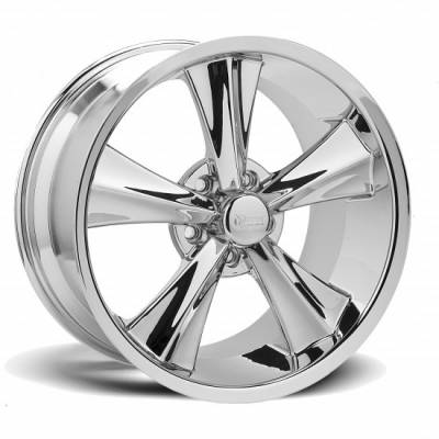 Rocket Racing Wheels - Rocket Racing Wheel Booster Modern Muscle Chrome, 18 & 20 inch