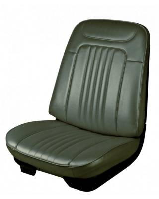 TMI Products - 1971 - 1972 Chevelle Convertible Front Bucket and Rear Bench Seat Upholstery - Image 1