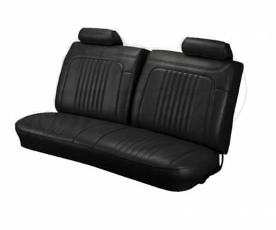 TMI Products - 1971 - 1972 Chevelle Front and Rear Bench Seat Upholstery - Image 1
