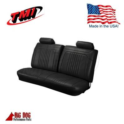 TMI Products - 1971 - 1972 Chevelle Front and Rear Bench Seat Upholstery - Image 2