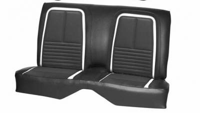 TMI Products - 1967 Camaro Convertible Deluxe Front and Rear Bench Seat Upholstery - Image 2