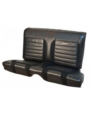 TMI Products - Deluxe Pony Sport R Upholstery for 1964 1/2 - 1966 Mustang Coupe w/Bucket Seats Front/Rear - Image 3